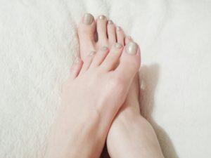 足指はちゃんと開きますか?
